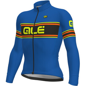 Alé Cycling Solid Vetta Longsleeve Jersey Men blue-fluo yellow